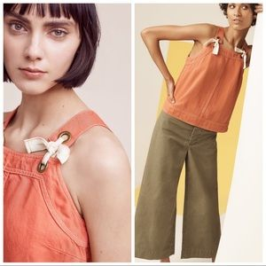 Anthropologie Tied Swing Top NWT